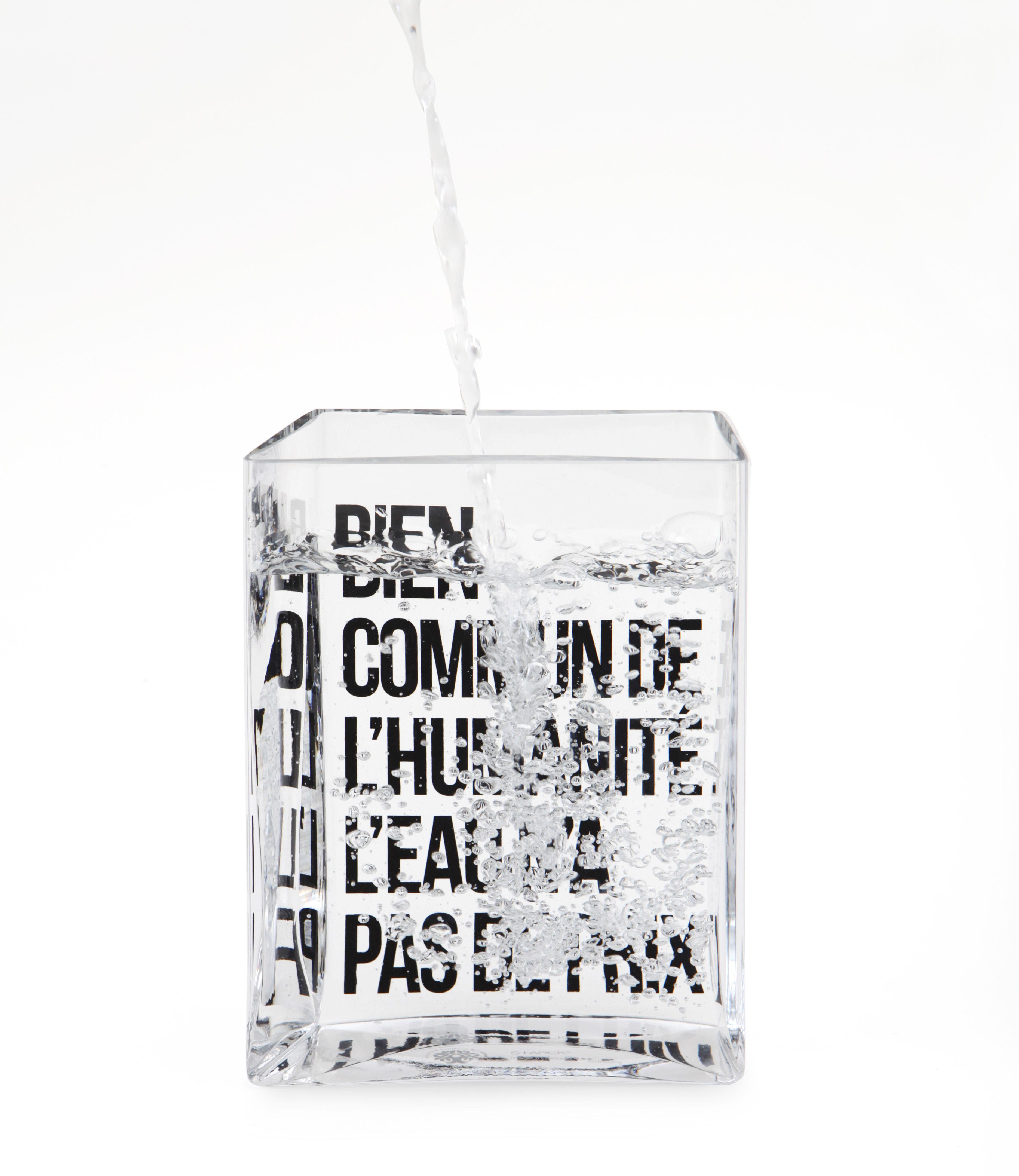 [idée cadeau #1] Carafe La lame d'eau par Philippe Starck