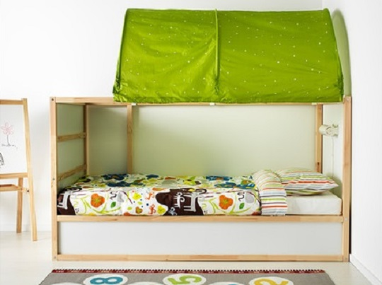 lit r versible pour enfant kura ikea. Black Bedroom Furniture Sets. Home Design Ideas