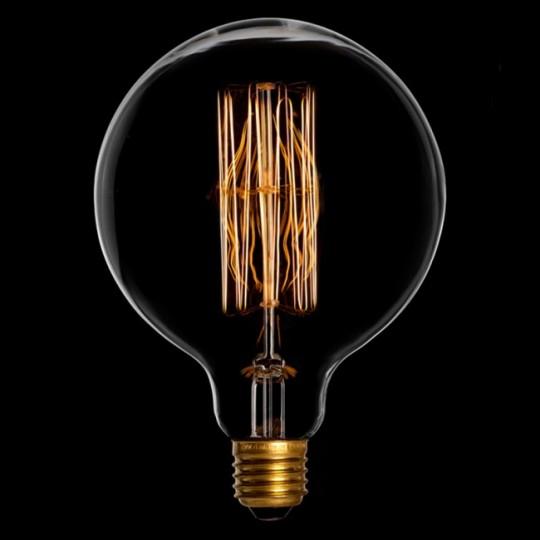 Ampoule à incandescence à filament ronde Danlamp