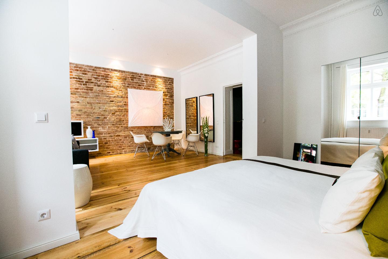 Studio en location courte dur e berlin for Appartement ultra design