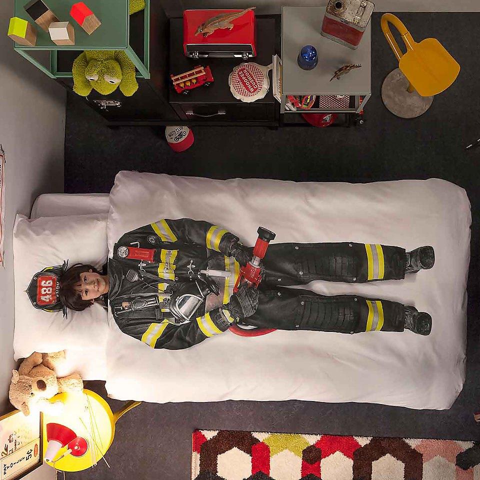 Chambre enfant le blog d co - Housse de couette pompier ...