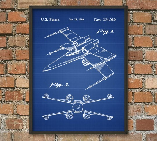 Poster Star Wars X Wing alliance rebelle