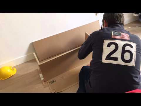 Video : montage d'une étagère MUJI PULP en 36 Secondes, qui dit mieux ?