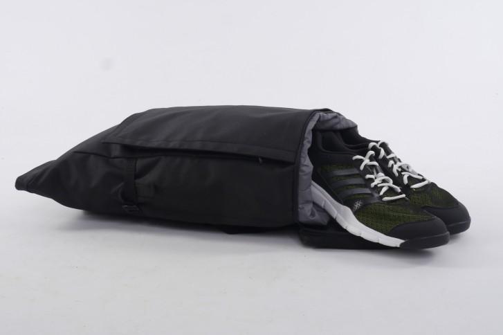 Invisible backpack emplacement pour une paire de chaussures