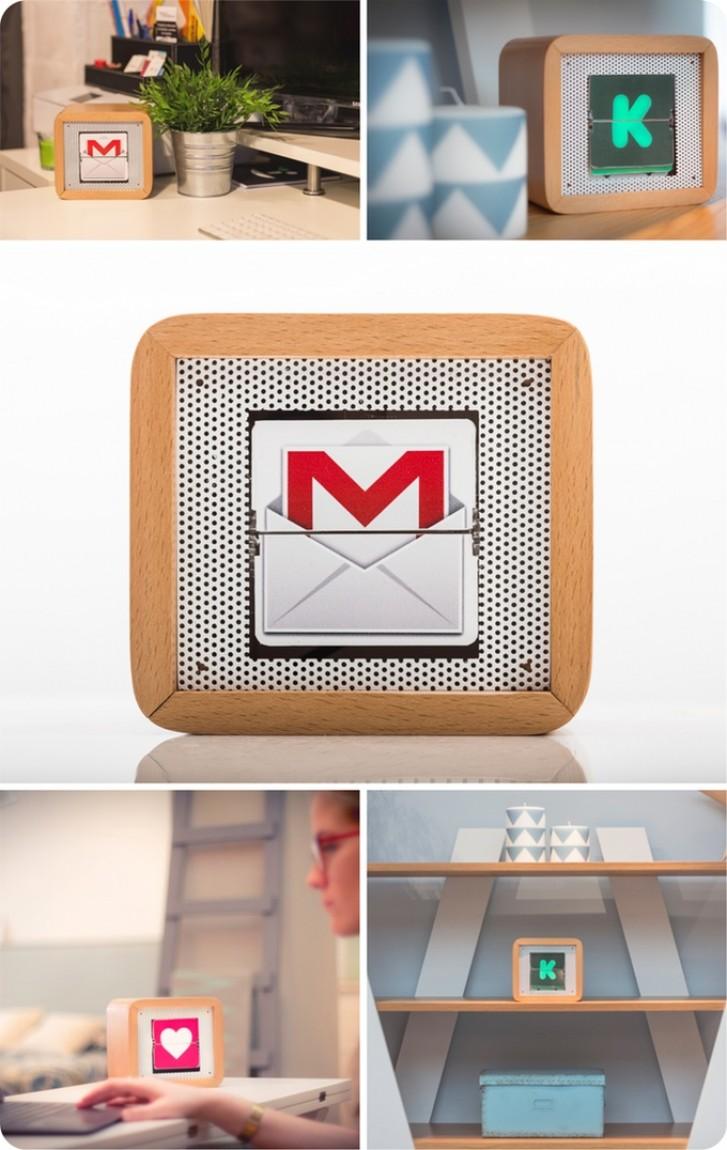 MIOT mini boitier taille réduite pour afficher vos fans sur les réseaux sociaux