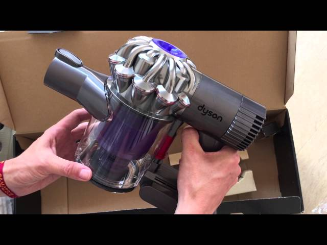 Review : Déballage & Test de l'aspirateur Dyson DC62 Animalpro