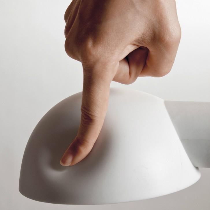 Lampe d'architecte avec abat-jour souple Softclamp