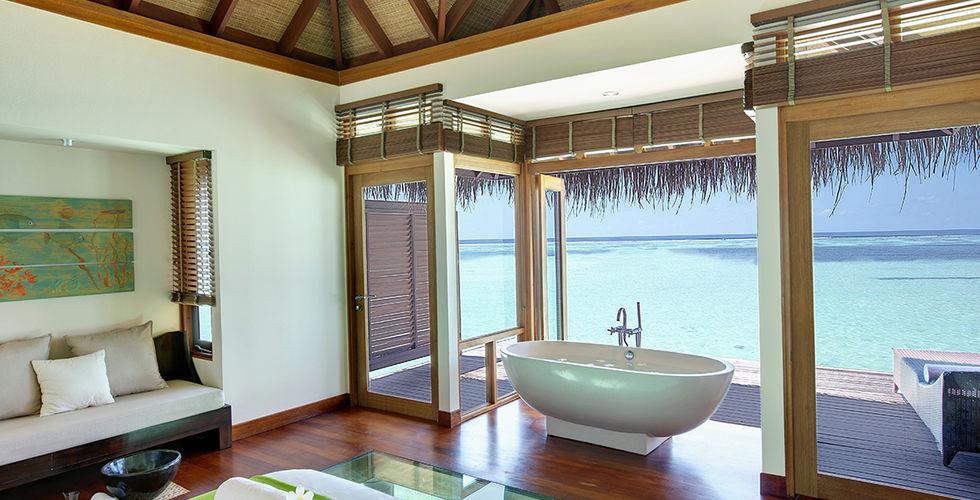 ari atoll maldives hotel lux signature pool water villa. Black Bedroom Furniture Sets. Home Design Ideas