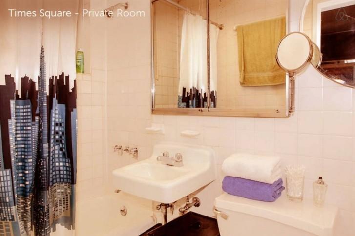 Bon plan chambre à louer à New-York avec salle de bain