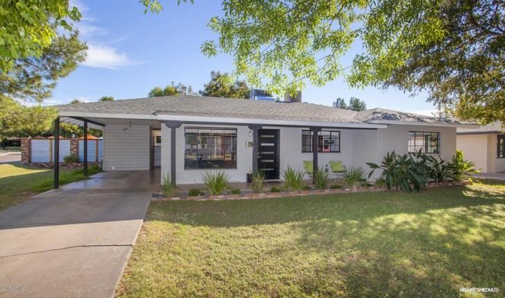 Maison ranch Phoenix Arizona - vue extérieure