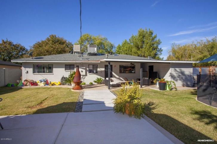 Maison ranch Phoenix Arizona - vue jardin