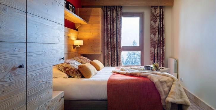 Résidence les terrasses d'Helios à Flaine - chambre de luxe