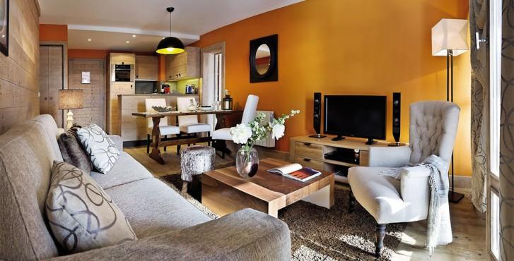 Résidence les terrasses d'Helios à Flaine - intérieur de l'appartement