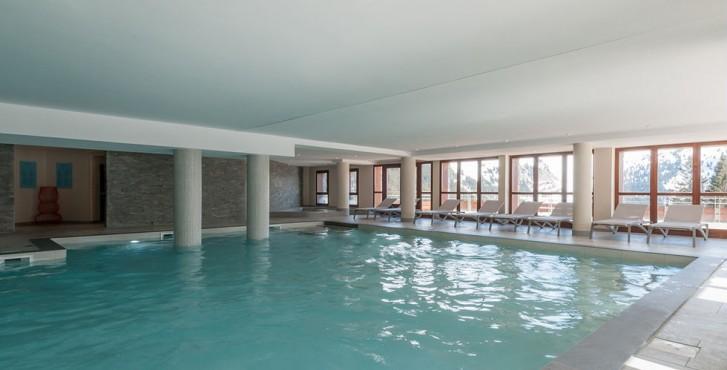 Résidence les terrasses d'Hélios à Flaine - piscine couverte