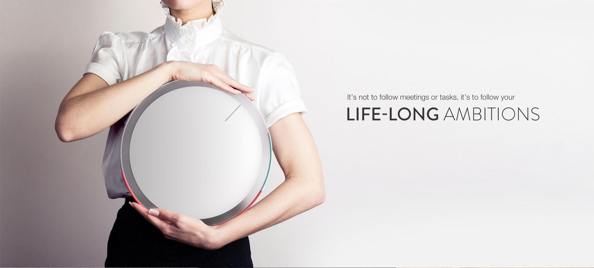 Oqloq : l'horloge design pour mieux gérer votre temps