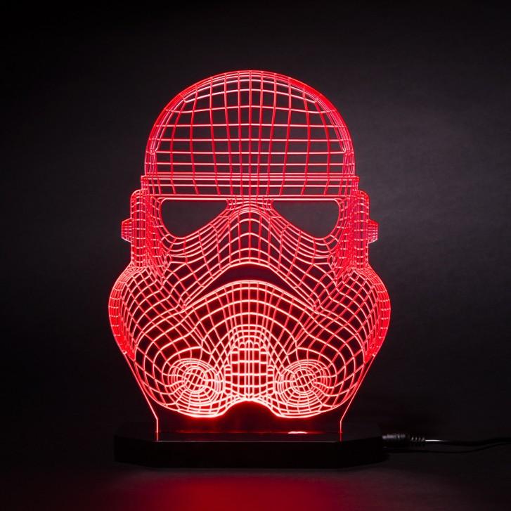 lampes 3d des vaisseaux et personnages de star wars