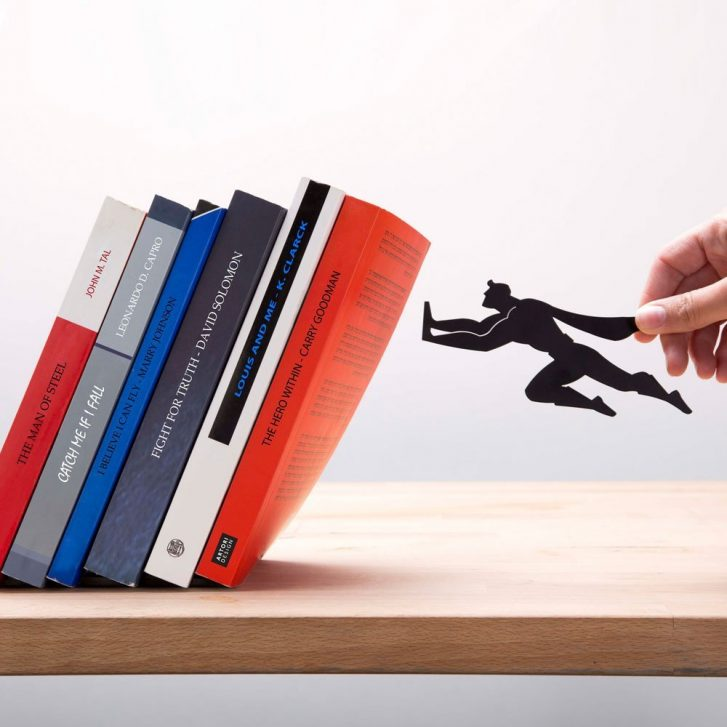 Serre-livres Artori design Book and Heroe
