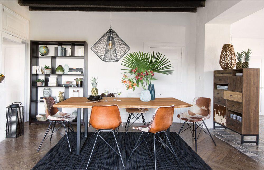 suspension filaire noire juana. Black Bedroom Furniture Sets. Home Design Ideas