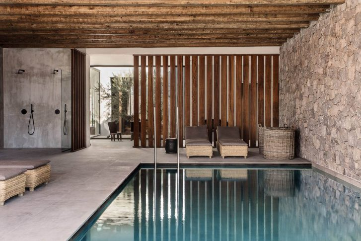 Casa cook kos - piscine intérieure
