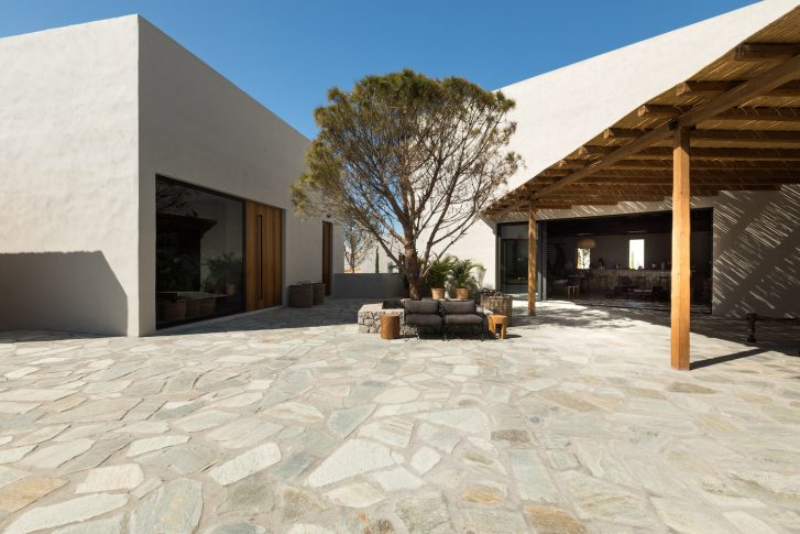 Casa cook kos - terrasse