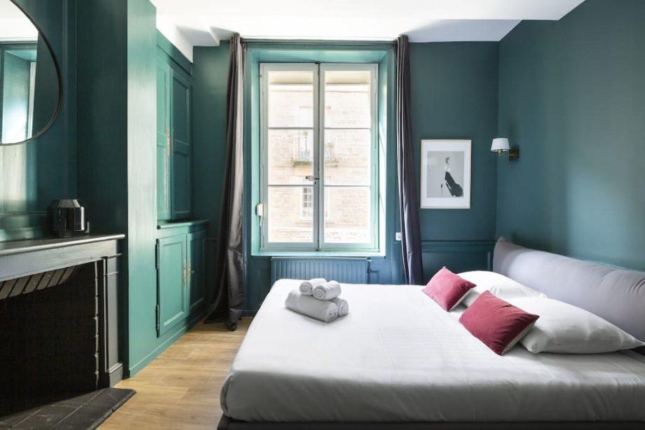 Chambre dans un appartement moderne au coeur de Saint-Malo intramuros