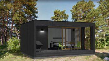 Maison container préfabriquée