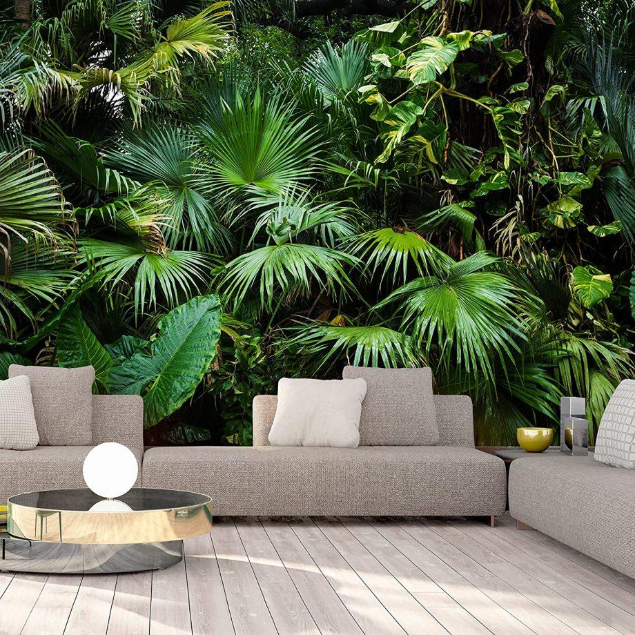 Papier peint jungle photo réaliste