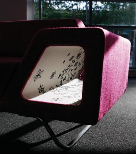 accoudoir avec rangement intégré du canapé Vibe freestyle lounge