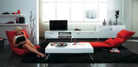 ambiance deco lounge design La redoute 2008