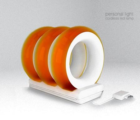 photo anneau lumineux design