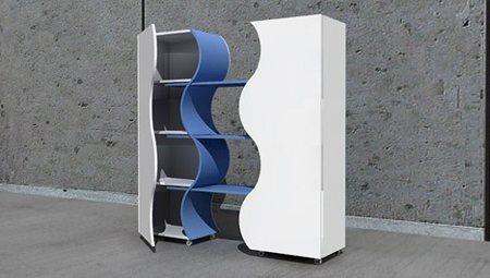 armoire extensible design - Zeynep Cinisli