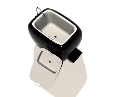 baignoire miniature lavabo Ladybird