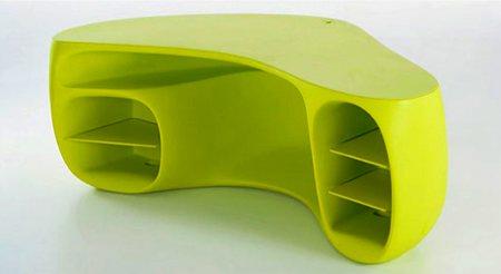 bureau design couleur vert Baobab - Philippe Starck