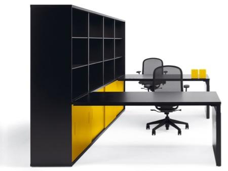 bureau Knoll - mobilier système