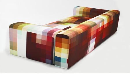 canapé pixel Cristian Zuzunaga