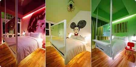 Chambre de l 39 hotel majestic de singapour for Neon pour chambre