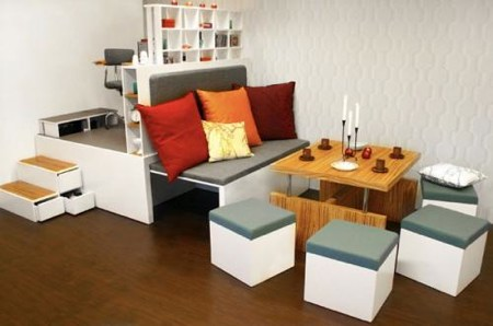 compact living system Matroshka