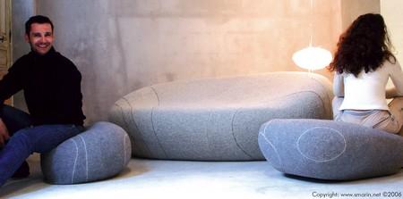 coussins galets livingstones. Black Bedroom Furniture Sets. Home Design Ideas