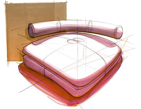 'croquis de concept de fauteuil design Sketch - Alexandre Boucher