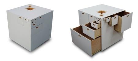 cube Fractal design Takeshi Miyakawa
