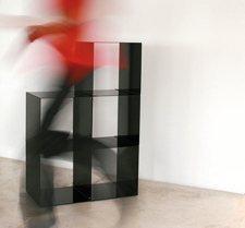 cube en métal Quad design