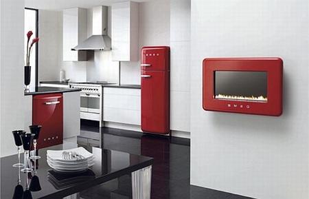 Tendance cuisine r tro smeg for Cuisine retro rouge