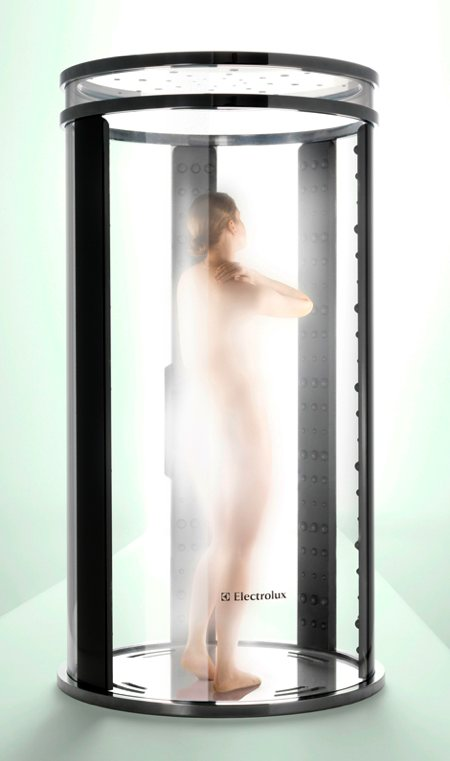 douche brouillard Electrolux - Joao Diego Schimansky design