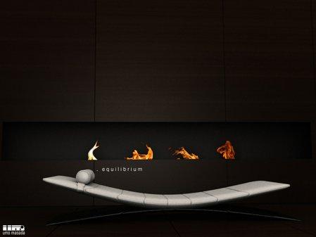 canapé design blanc Equilibrium - Umo Masada