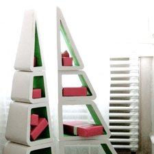 étagère sapin de noel design - Manuela Michalski
