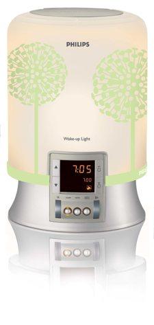 lampe Eveil lumière Philips HF3461 avec sticker Matali Crasset