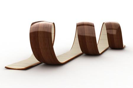 fauteuil escargot lounge Loopty loop loopita - Victor Aleman