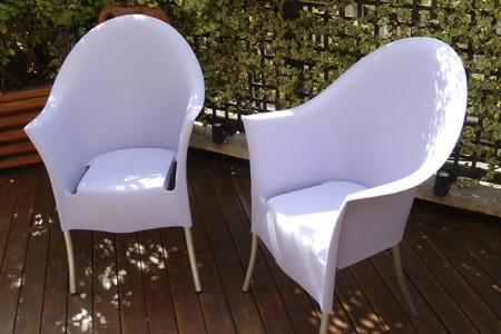 photo fauteuil design Lord Yo - Philippe Starck