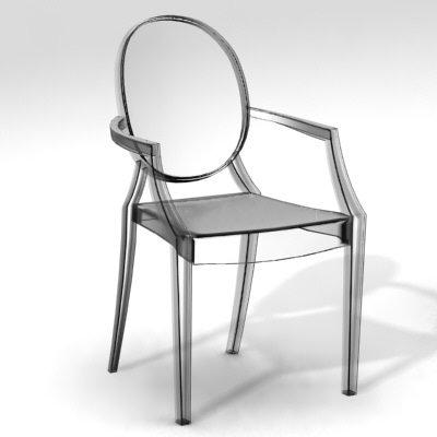 Fauteuil transparent louis ghost - Meuble philippe starck ...