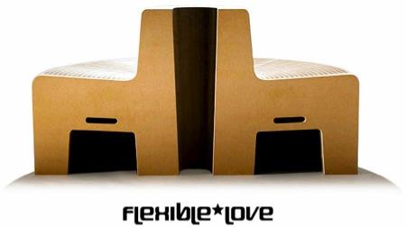flexible love - fauteuil accordéon